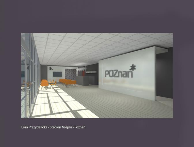 Loża prezydencka – Stadion Miejski Poznań