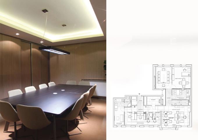 Projekt przestrzeni biurowej